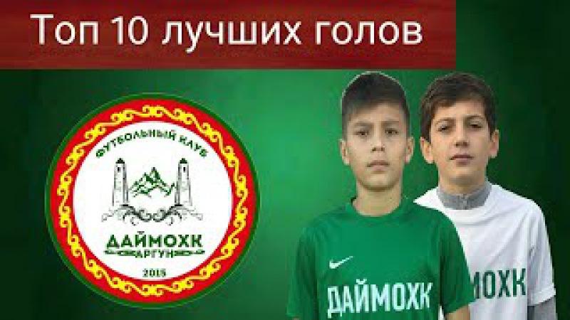 Топ 10 лучших голов ФК Даймохк 2017г.