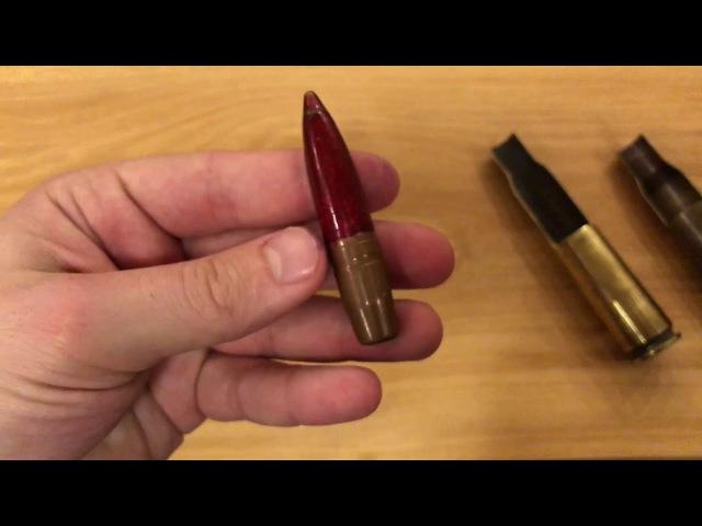 Патрон 12 7x108 Часть 3 Разрывные пули МДЗ 46 и МДЗ М
