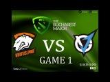 Virtus Pro vs VGJ Thunder #1 bo5 The Bucharest Major, 11.03.2018
