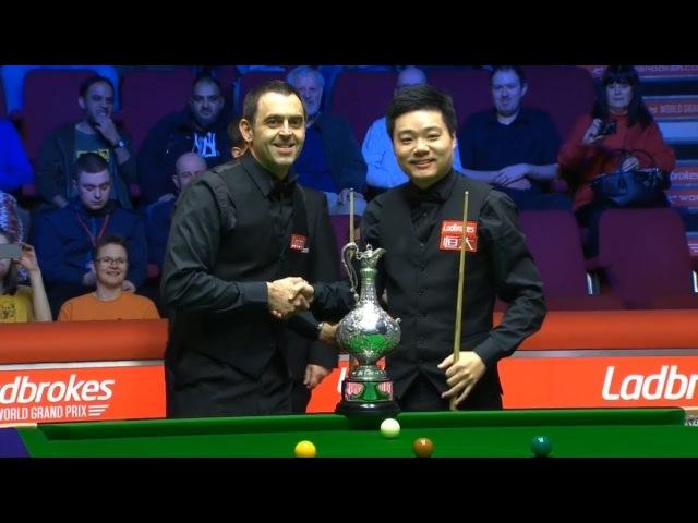 Ronnie O'Sullivan v Ding Junhui 丁俊晖 Final World Grand Prix 2018 Session 1