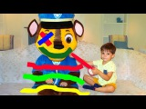 Bad Baby Are You Sleeping Learn Colors with Tape Children Songs Nursery Rhymes Kids Song Paw Patrol