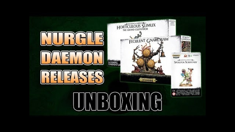 Nurgle Daemons: Unboxing 40k Rules Review