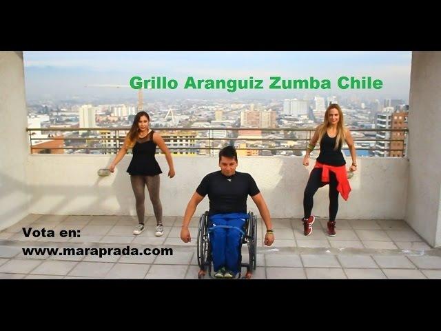 Grillo Aranguiz zumba Chile, clip Mara Prada Here i Come