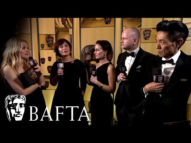 Darkest Hour wins Hair Make Up | Backstage Interview | EE BAFTA Film Awards 2018