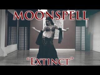 Mahafsoun Metal Bellydance ~ Moonspell {Extinct} (4K)