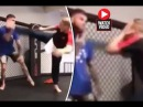 Shocking video: Jean-Claude Van Damme almost KO Cody Garbrandt during sparring