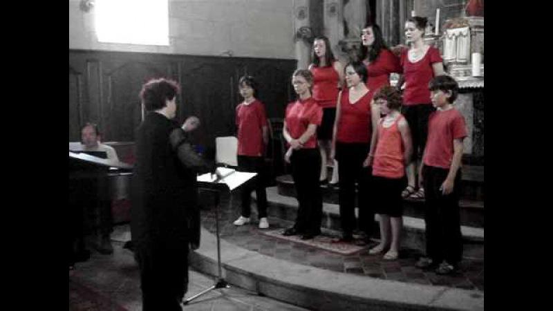 La chanson de Prévert, S. Gainsbourg - Choeur d'enfants Les Cagou's dirigé par Evelyne BECHE