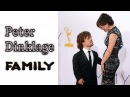 Peter Dinklage (Tyrion Lannister). Family (his brother, wife, dauther)