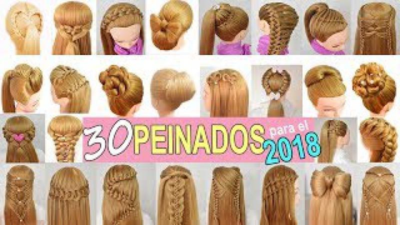 30 Peinados para Año Nuevo con Las mejores Trenzas para el 2018 de Fiestas - Niñas - Graduacion