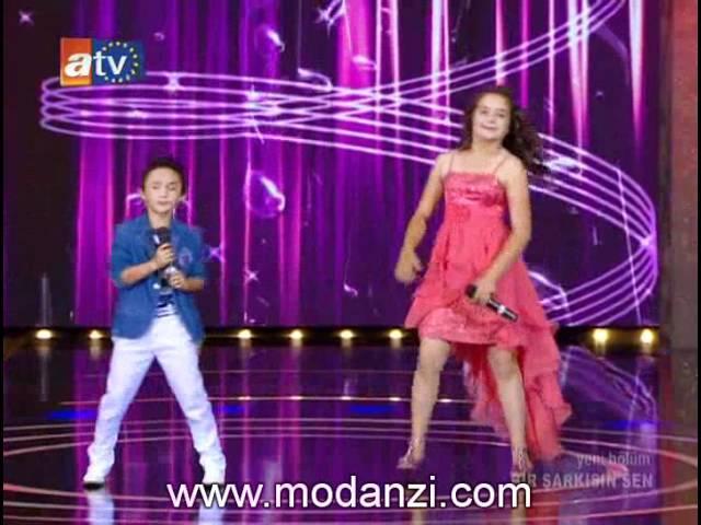 Bir Şarkısın Sen 07.07.2012 | Berna Veli - Kara Kaş Gözlerin Elmas | www.modanzi.com.tr