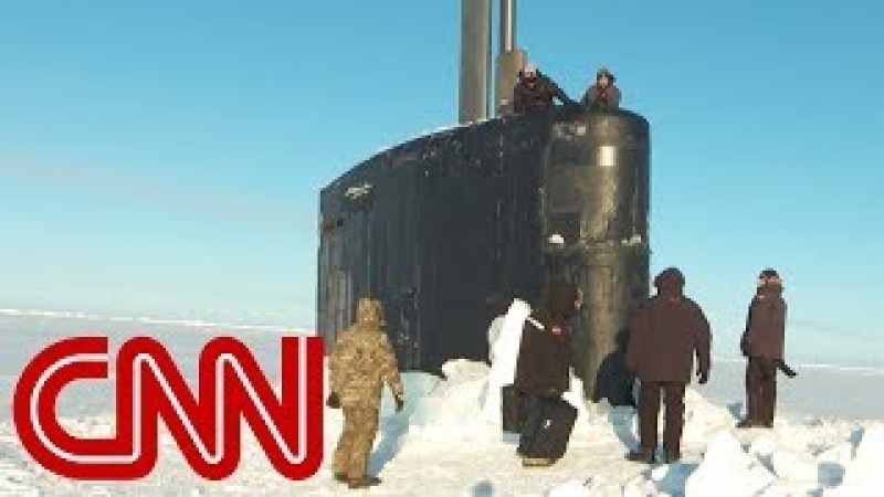 The nuclear sub challenging Russia in the Arctic