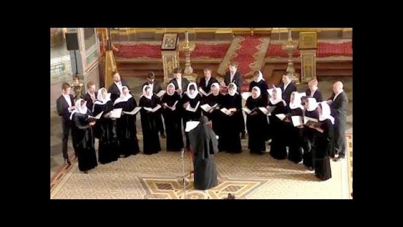 Праздничный хор Свято Елизаветинского монастыря