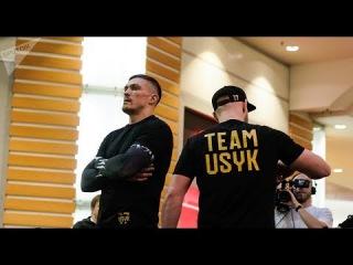 Александр Усик - Открытая тренировка перед боем с Майрисом Бриедисом