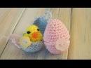 Crochet - part 2 of 2 How To Crochet a Mini Chick Egg - Yarn Scrap Friday