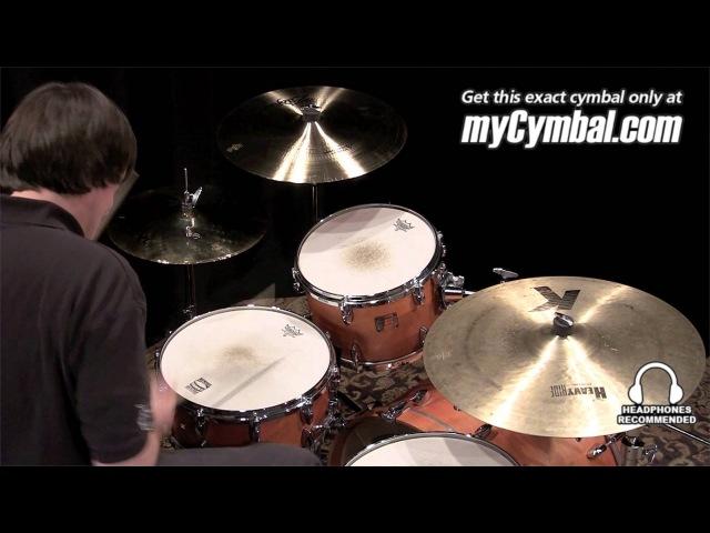 Used Zildjian 14 Z Custom Mastersound Hi Hat Cymbals (UZCust-1122612G)