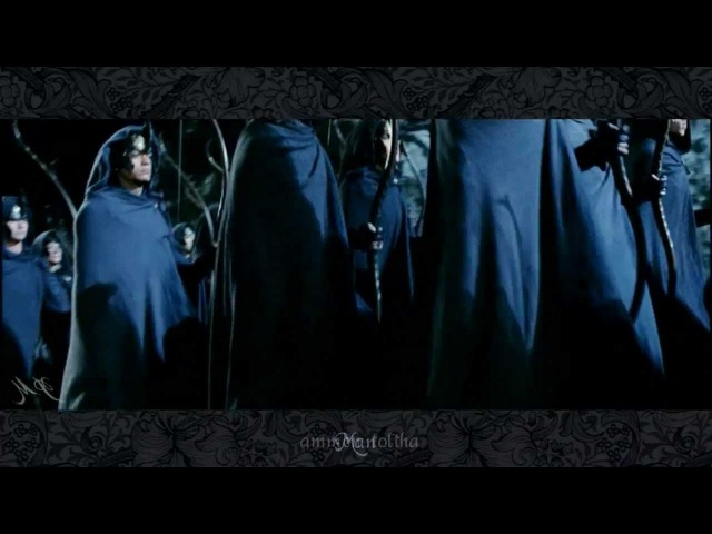 ♫ Lord of the Rings - The Elves arrive at Helm's Deep (with lyric)