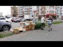 Снос продуктовых павильонов на ул 9 Мая