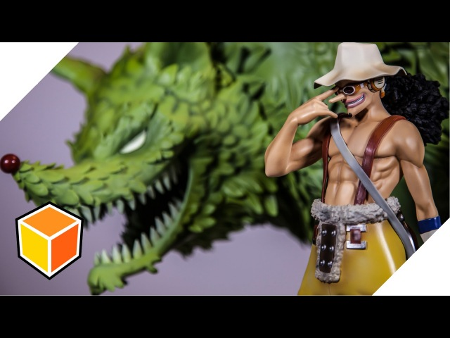Lysop (Usopp) Impact Wolf │ One Piece │ Limited HQS Statue – toykyo Unboxing