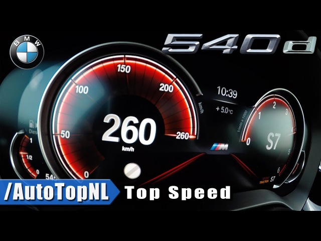 BMW 5 Series Touring G31 540d xDrive ACCELERATION TOP SPEED 0-260kmh by AutoTopNL