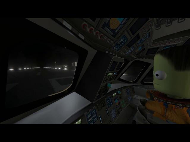 KSP Cinematic. Jeb's Hangar, liftoff!