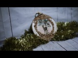 #61 DECOUPAGE CHRISTMAS ORNAMENTS CHRISTMAS BALLS BOMBKA DECOUPAGE TUTORIAL HANDMADE