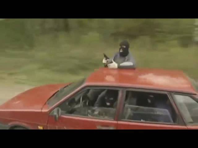 Охота на асфальте (2005) 3 серия - short car chase scene