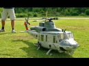 XXXL HUGE RC BELL UH-1Y HUEY TURBINE SCALE MODEL HELICOPTER FLIGHT DEMONSTRATION
