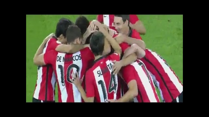 Athletic Bilbao vs FC Barcelona 4:0 All Goals Full Highlights Spain Super Cup 14/08/2015