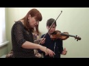 T. Berkul. Cycle of video lessons Work on violin sound with pupils of different ages
