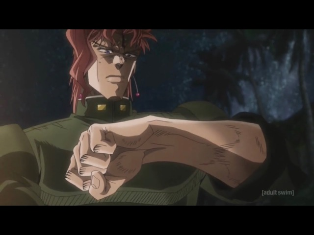 Stardust Crusaders (English Dub) - Baby Stand?