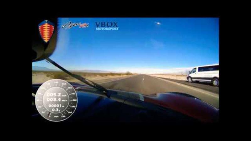 Koenigsegg Agera RS 457 kmh world fastest production car