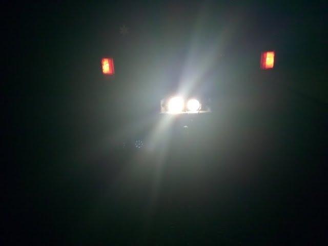 LED Light Bar SOLCO Light 2x 27W Round Flood LED Work Light Driving Fog Light Off Road Lights IP67 W