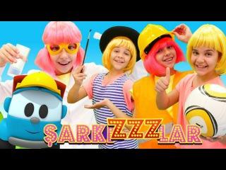 Çocuk dansı! Çoçuk şarkıları dinle #Polen ve Sema meslek arıyor. Şarkızlar! Eğitici çizgi film izle