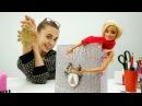 Новогодний блокнот для Барби своими руками. Поделки вместе с Барби