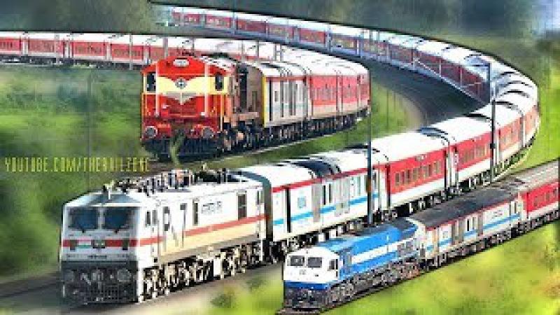End of an Era | Diesel - Electric | Bangalore RAJDHANI Express | Indian Railways