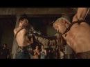Спартак Кровь и Песок Показательный бой Спартак против Ворона