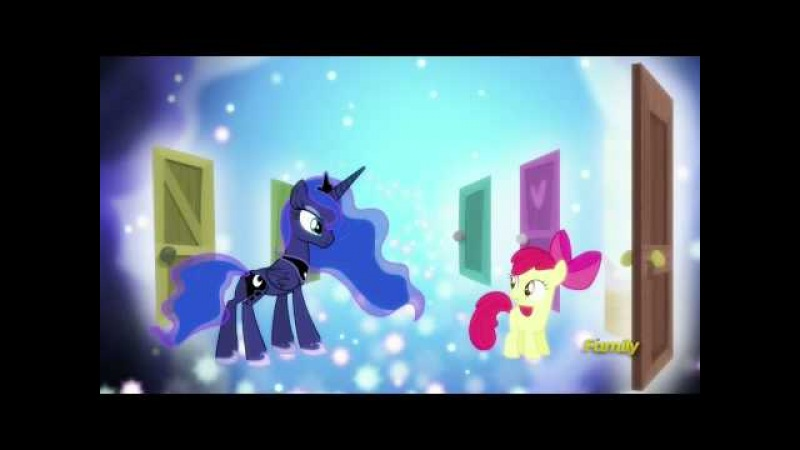 Princess Luna in Applebloom's dream - Bloom and Gloom