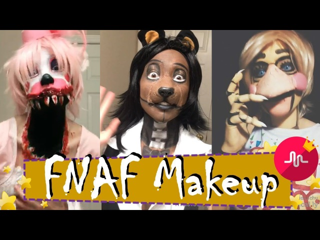● The Best FNAF Makeup Cosplay | Freddy, Mangle, Circus Baby And Many More | TIK TOK | Musical.ly