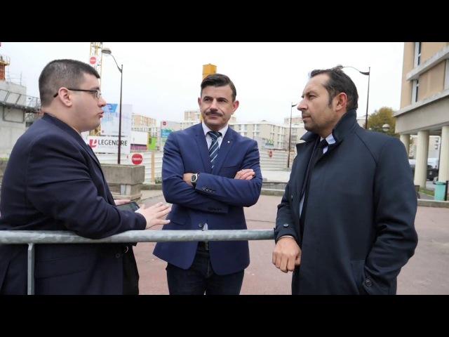 Mosquées radicales : déplacement de Sébastien Chenu à Villiers-sur-Marne