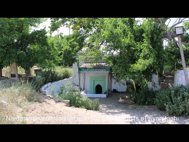 Nardaranpiri.com: Nardaran Rəhimə xanım ziyarətgahının fotolarından ibarət video çarx,28.12.2013.