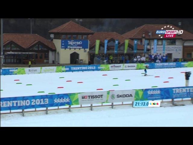 XXVI Зимняя Универсиада 2013 Трентино Италия Лыжные гонки Женщины Эстафета 3х5 км HD Rutracker org