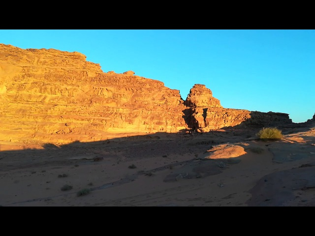Пустыня Вади-Рам на закате