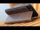 Blumax iPhone 6/7/8 Ledertasche Case / Booklet / Wallet Magnetverschluss/Standfunktion Vintage brown