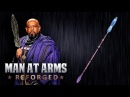 Zuri's Spear Black Panther MAN AT ARMS REFORGED