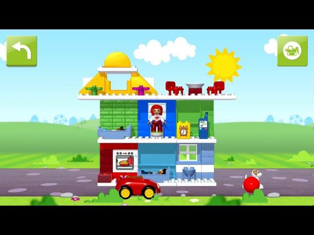 Мультик Лего - Создай свой город Lego Duplo