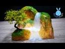 DIY Hot Glue Waterfall Using Newspaper waste of paper Hot Glue NOVA Craft