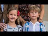 Принцессе Жозефине и Принцу Винсенту 7 лет.