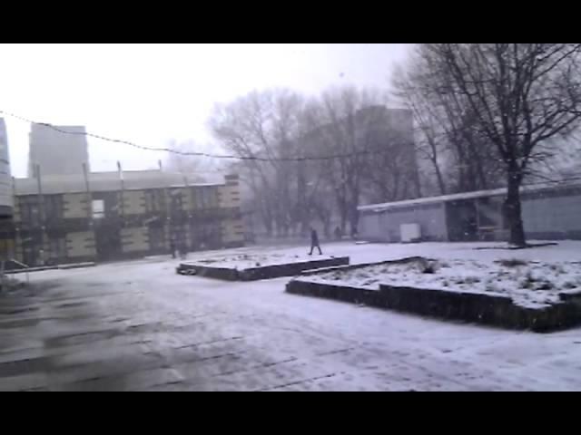 Первый снег в Балтийске. 14.01.2012 (ч.2)