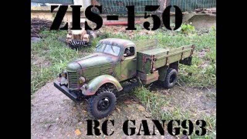 Zis150 1/12 KING KONG RC unboxing and build