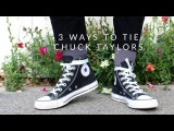 3 DIFFERENT WAYS TO TIE CONVERSE ALL STAR HI EASY